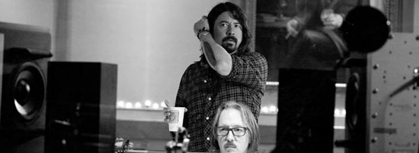 Dave Grohl In The Studio