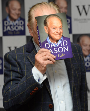 David Jason 'My Life' book launch