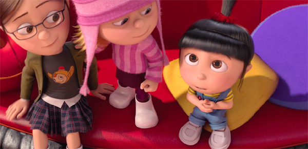Margot, Edith & Agnes in Despicable Me 2