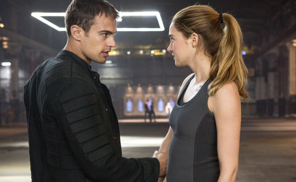 Shailene Woodley, Theo James, Divergent