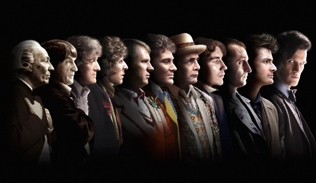 Faces of Doctor Who