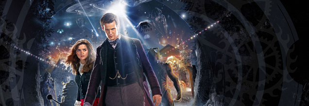 Doctor Who Christmas Artwork