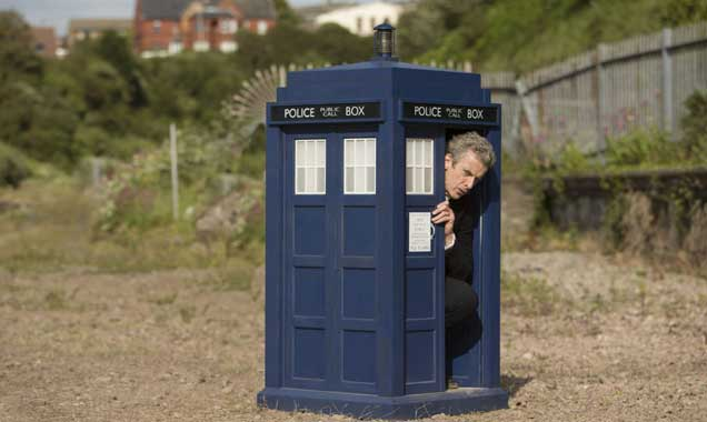 Peter Capaldi in Doctor Who series 8, episode 9: Flatline