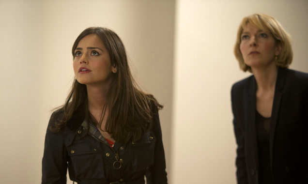Jenna Louise Coleman and Jemma Redgrave