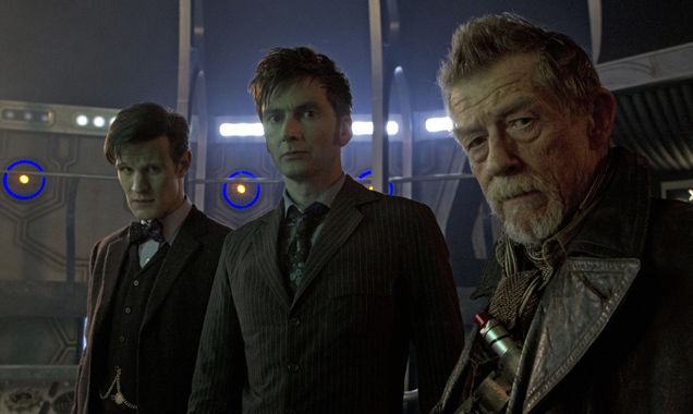 Matt Smith David Tennant John Hurt