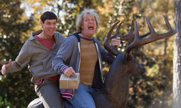Jim Carrey and Jeff Daniels in 'Dumb and Dumber To'