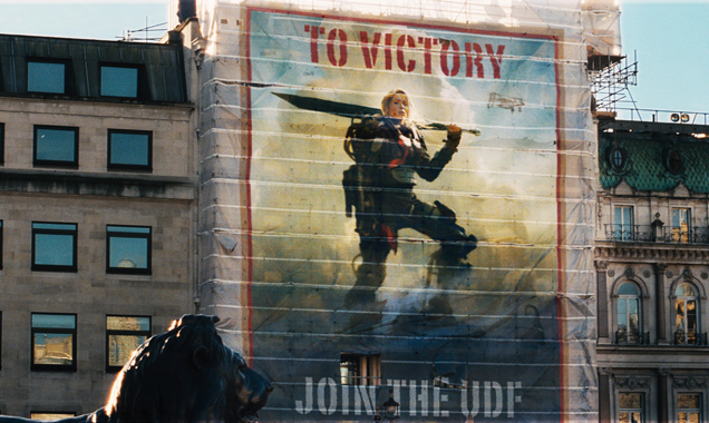 Emily Blunt poster in Edge of Tomorrow