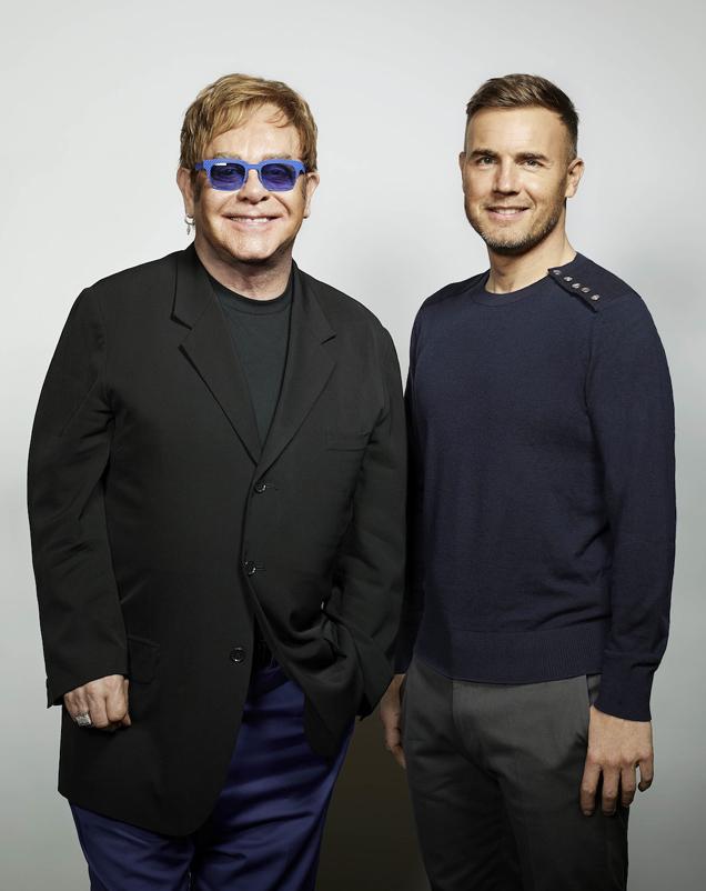Elton John Gary Barlow Face to Face