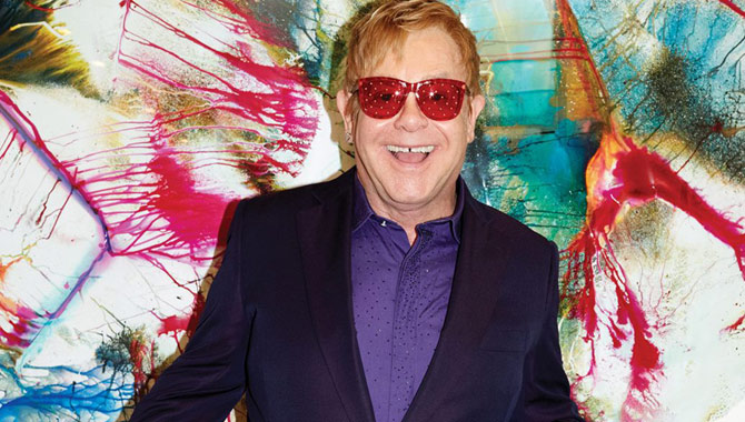 Elton John Unveils Details For New Album 'Wonderful Crazy Night'