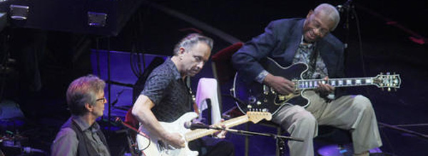 Eric Clapton & BB King At Crossroads Guitar Festival