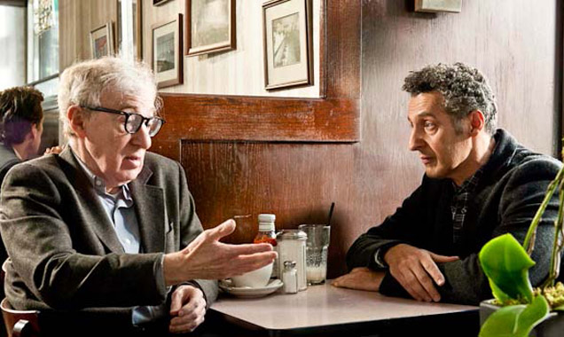 Woody Allen and John Turturro in Fading Gigolo
