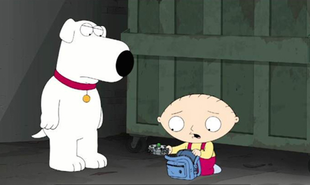 Family Guy Brian Stewie
