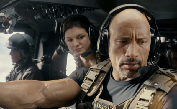 Dwayne Johnson in Fast & Furious 6