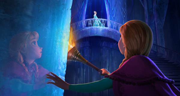 Anna searches for her Snow Queen sister in 'Frozen'