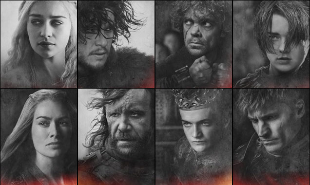 Game of Thrones Season 4 Headshots