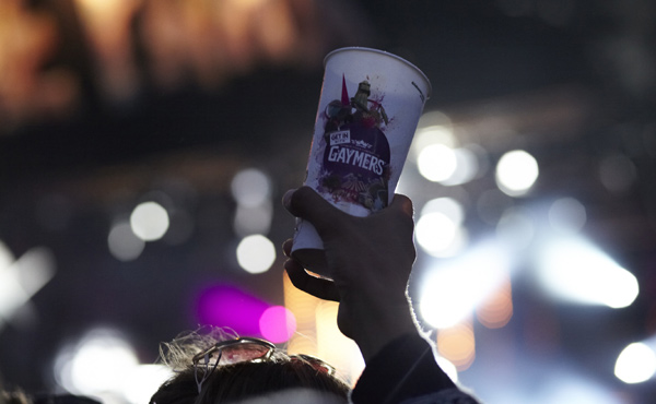 Drink To The Stage At Reading Festival