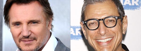 Liam Neeson, Jeff Goldblum