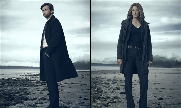 David Tennant Anna Gunn Gracepoint