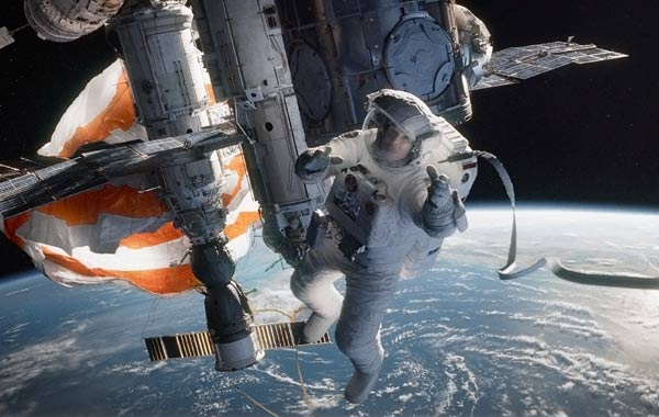 George Clooney Gravity Movie