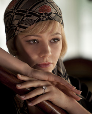 Carey Mulligan as Daisy Buchanan in Baz Luhrmann's The Great Gatsby