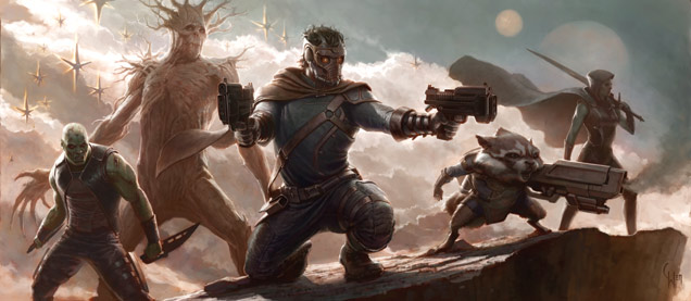 Guardians Of The Galaxy Concept Art 1