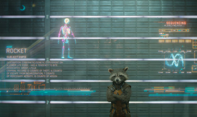 Rocket Racoon guardians of the galaxy