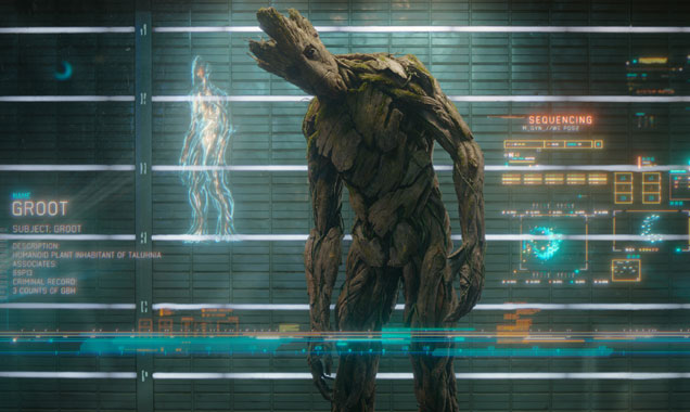 Vin Diesel As Groot In Guardians of the Galaxy