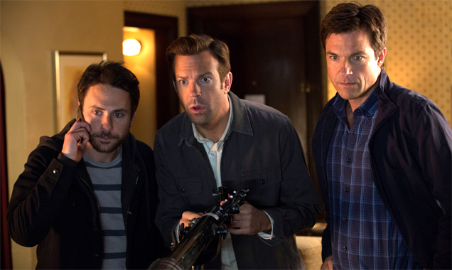 Charlie Day, Jason Sudeikis and Jason Bateman in 'Horrible Bosses 2'