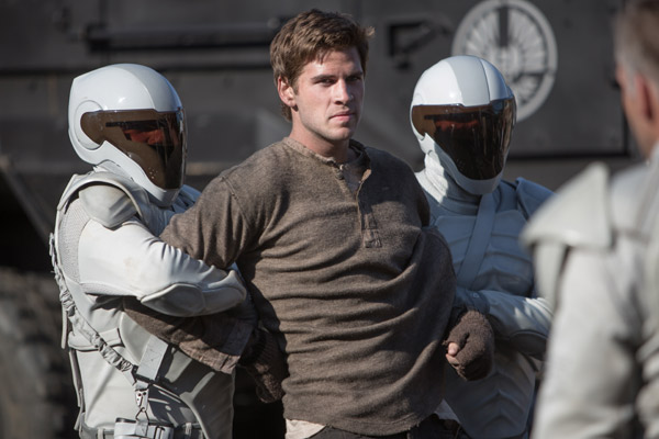 Liam Hemsworth, Catching Fire Still