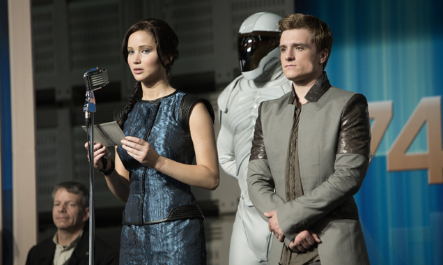 Jennifer Lawrence, Josh Hutchenson, The Hunger Games: Catching Fire Stills