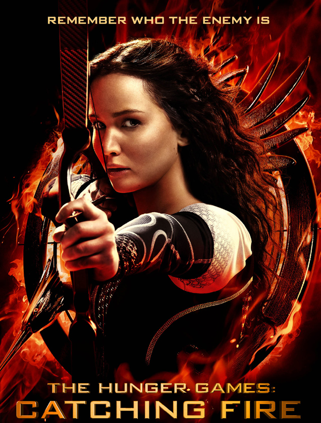 Jennifer Lawrence, The HUnger Games: Catching Fire Poster