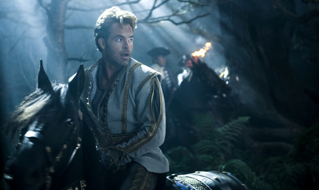 Chris Pine in 'Into The Woods'