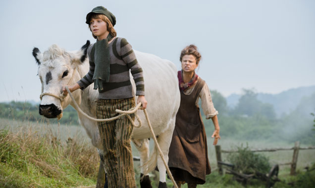 Daniel Huttlestone & Tracy Ullman star as Jack and his mother