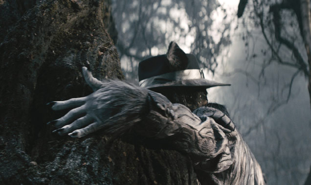 Johnny Depp in 'Into The Woods'