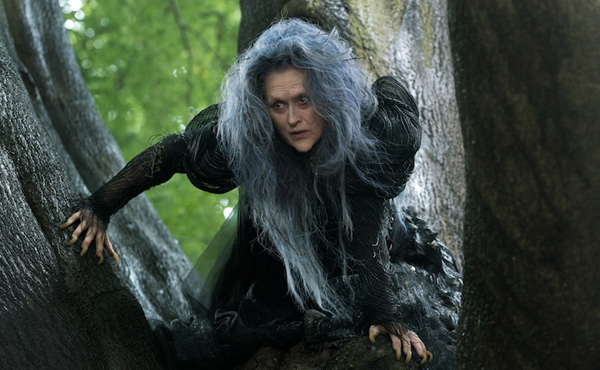 Meryl Streep as the wicked witch in 'Into The Woods'