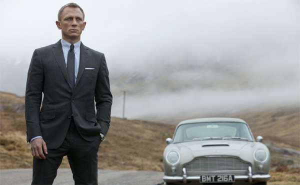 Daniel Craig as James Bond in 'Skyfall'