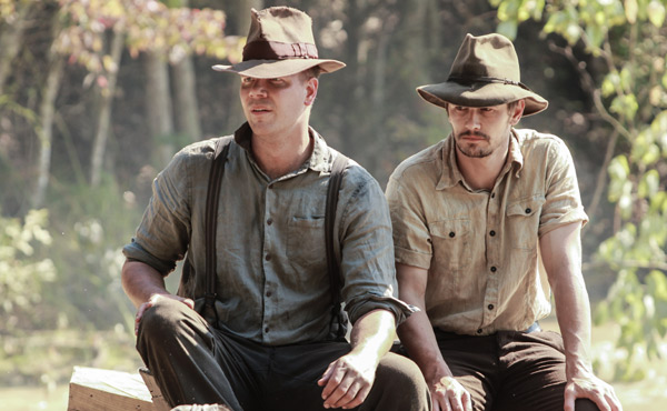Jim Parrack & James Franco in As I Lay Dying