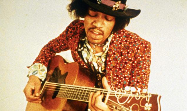 Jimi Hendrix promo shot