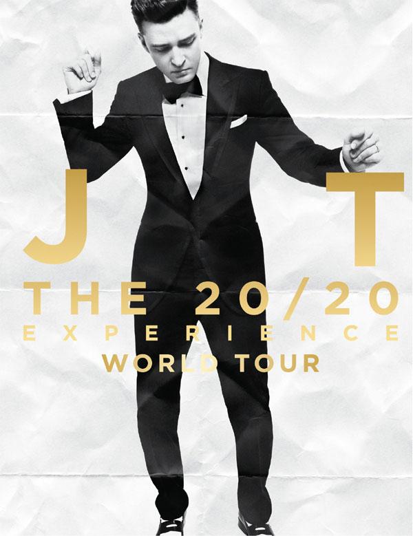 Justin Timberlake tour poster