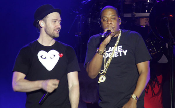 Justin Timberlake and Jay Z
