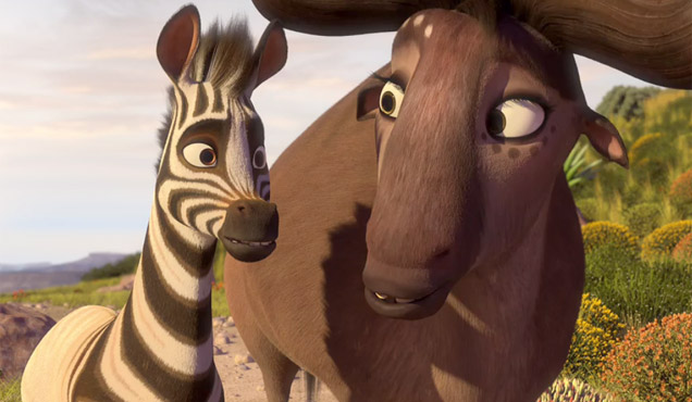 Khumba and Buffalo