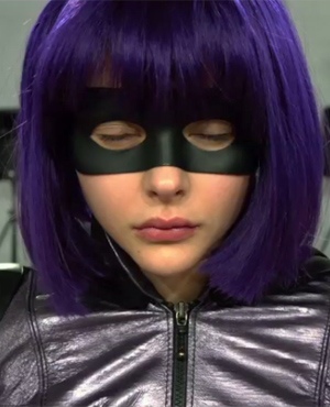 Chloe Grace Mortez as Hit-Girl