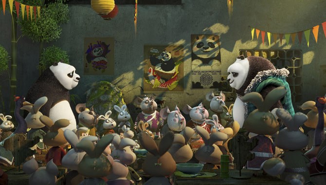 Po Won't Take Any Chit Chat From His Latest Enemy In 'Kung Fu Panda 3' [Trailer + Pictures]
