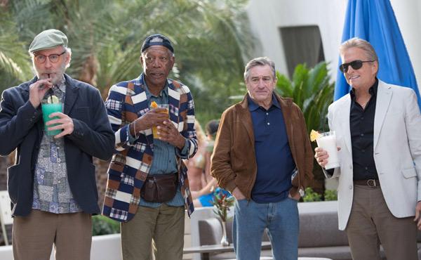 Kevin Kline, Morgan Freeman ,Robert De Niro, Michael Douglas