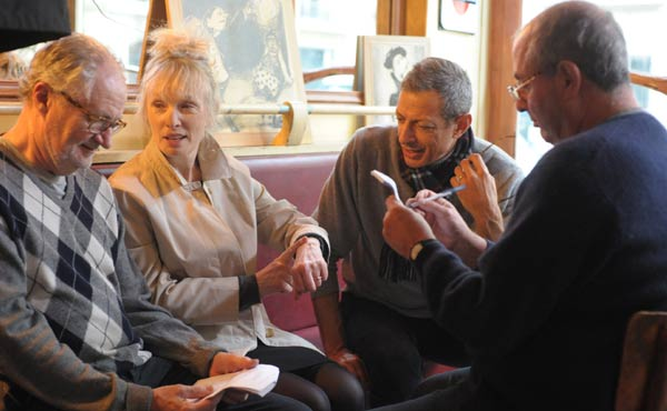 Jim Broadbent, Lindsay Duncan and Jeff Goldblum