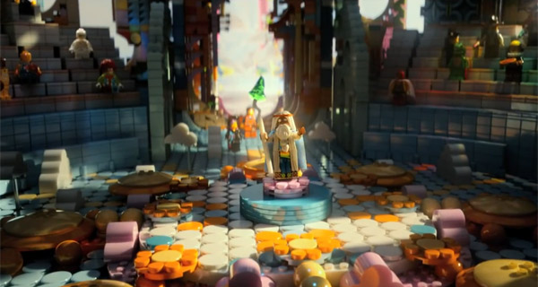 Lego The Movie - Temple Gathering