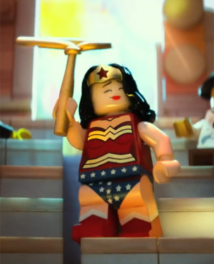 Wonder Woman in The Lego Movie
