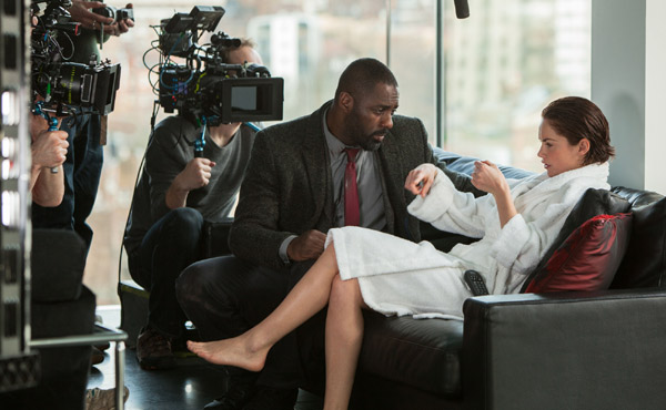 Idris Elba Ruth Wilson Luther