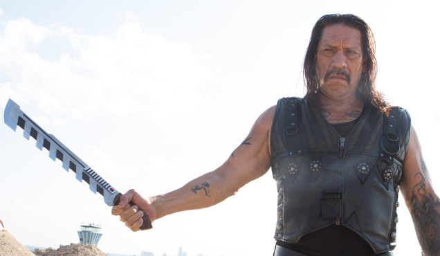Danny Trejo once again plays Machete