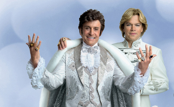 Michael Douglas & Matt Damon in Behind The Candelabra